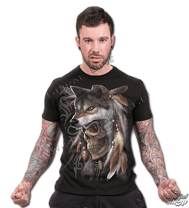tričko pánske SPIRAL - Spirit Of The Wolf - TR359600