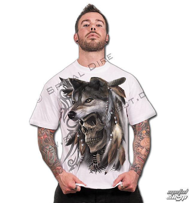 tričko pánske SPIRAL - Spirit Of The Wolf - TR359619
