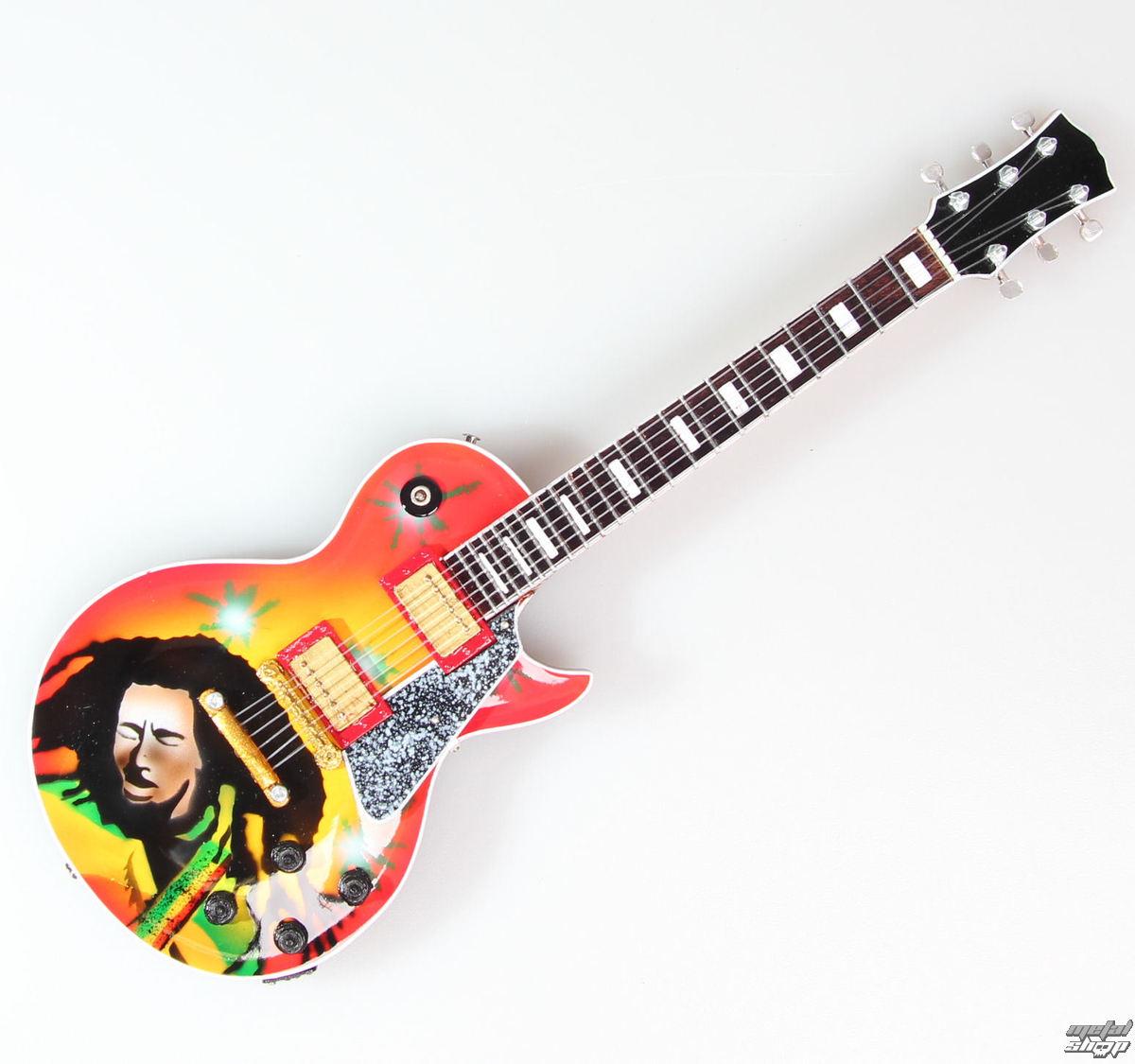 gitara Bob Marley - Portrait - MINI GUITAR USA - BOBLP