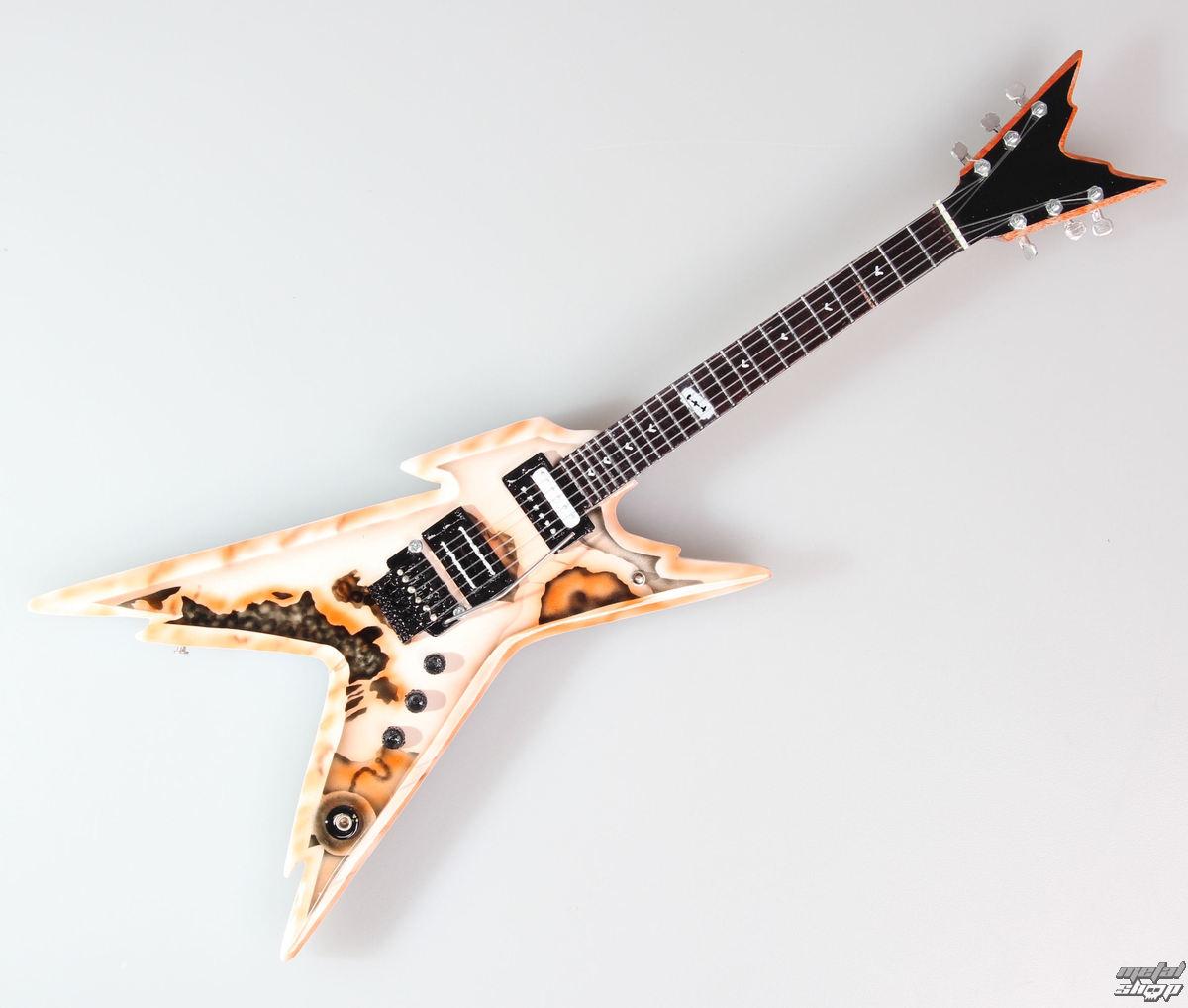 gitara Pantera - Dimebag Darrell - Razorback - MINI GUITAR USA - DDPink