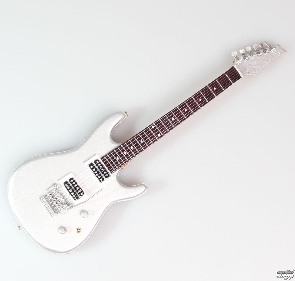 gitara Joe Satriani - Silver - MINI GUITAR USA - JS Silver