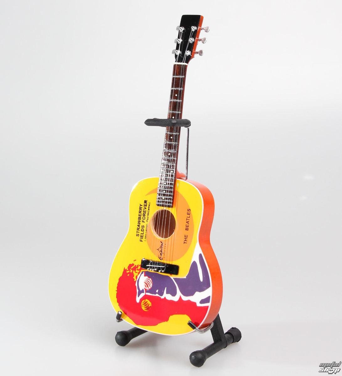 gitara Beatles - John Lennon - Strawberry - MINI GUITAR USA - JLSFF