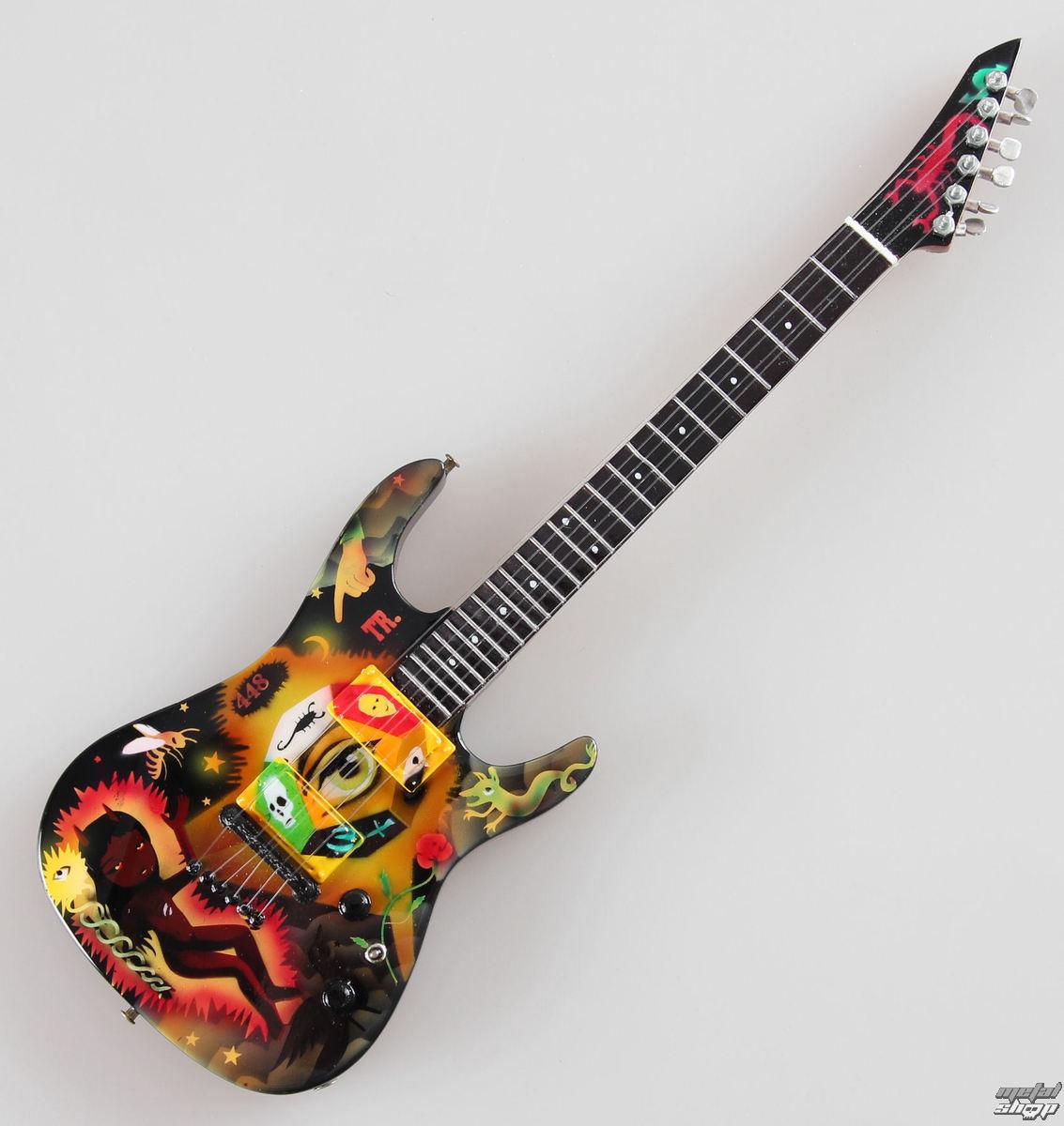 gitara Metallica - Kirk Hammett - Theme - MINI GUITAR USA - MTCT