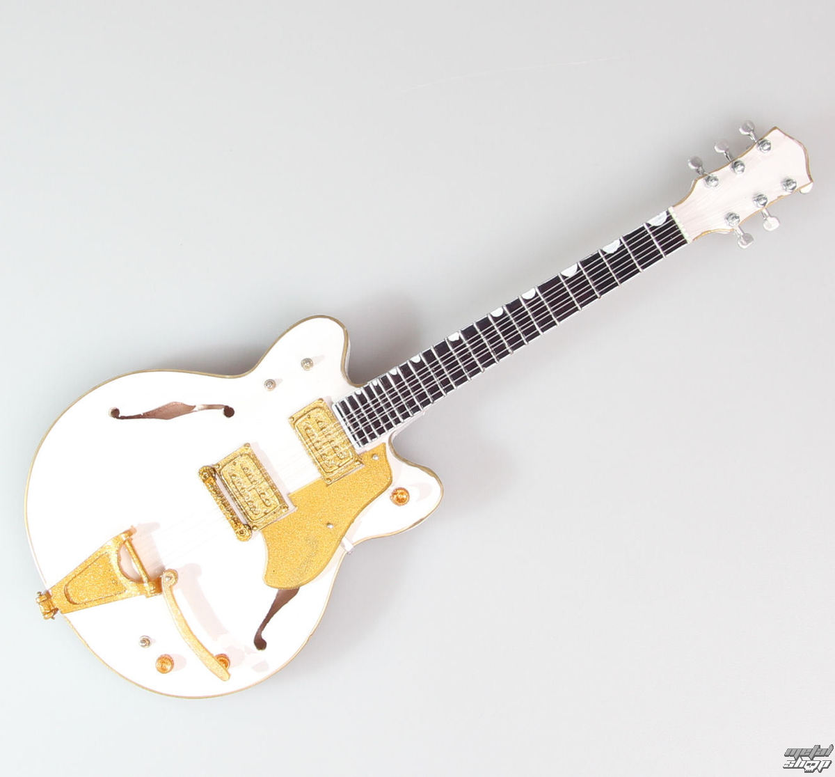 gitara Neil Young - White Falcon - MINI GUITAR USA - NY WF