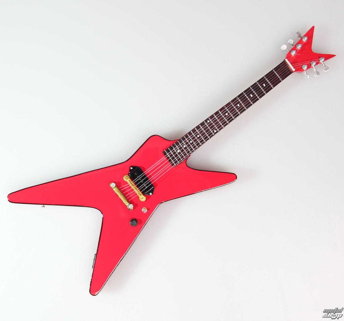gitara Sammy Hagar - Red Rocker - MINI GUITAR USA - SHD