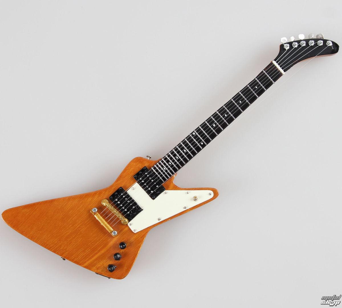 gitara U2 - Bono Explorer Edge 1 - MINI GUITAR USA - XPL Nat Wood
