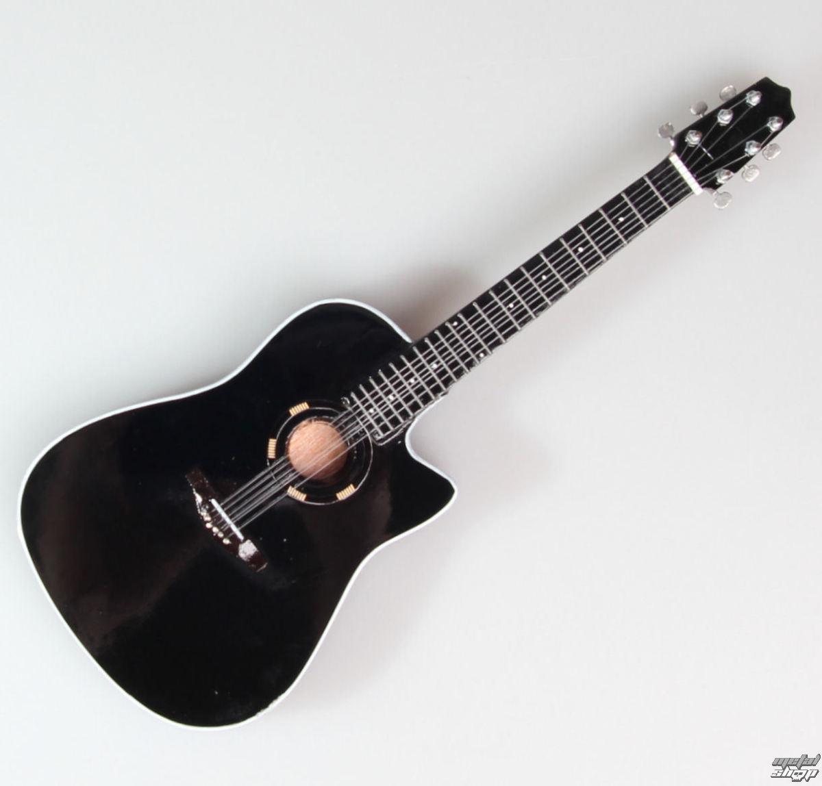 gitara Bon Jovi - Jon Bon Jovi - Black Acoustic - MINI GUITAR USA - Bon J