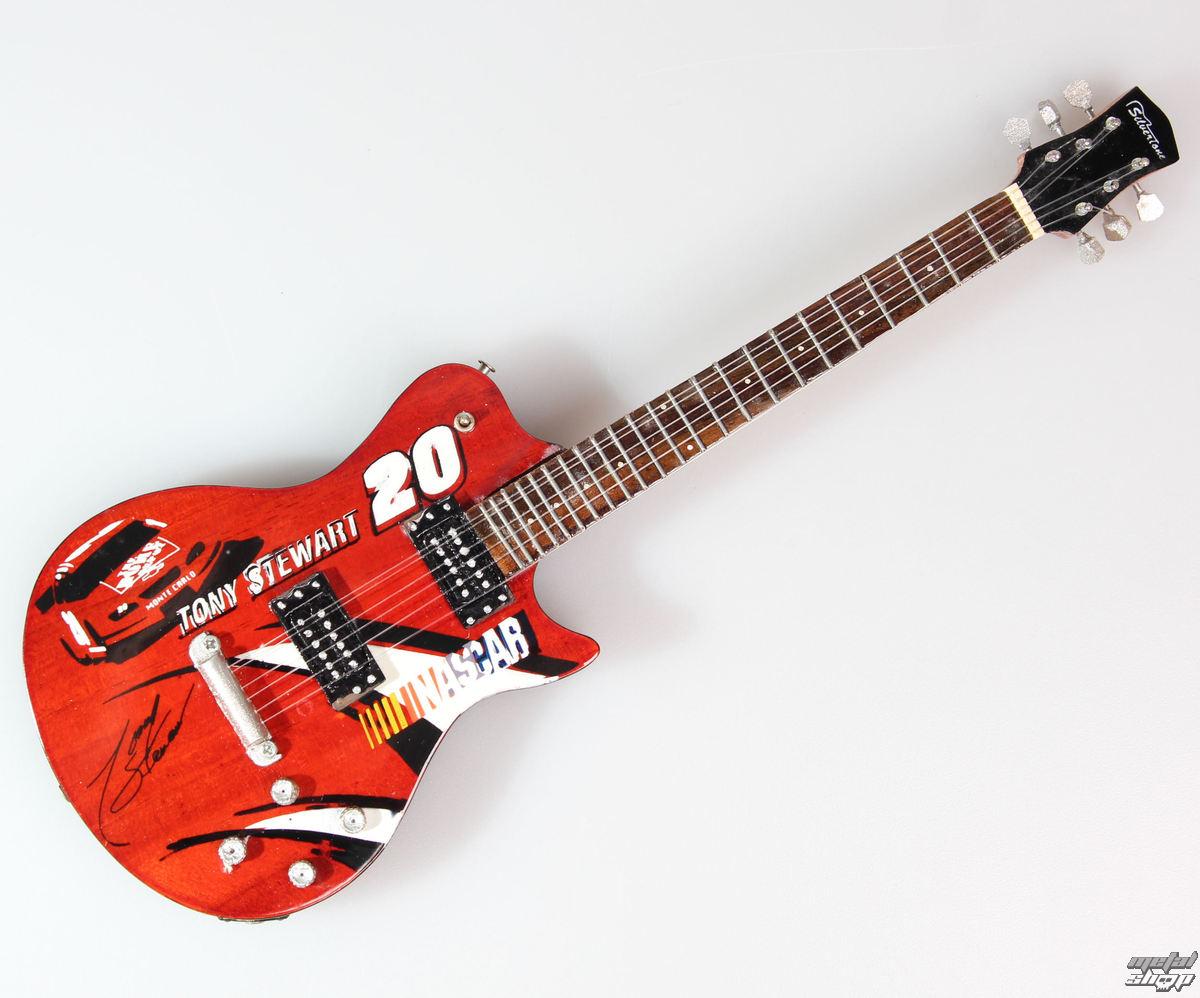 gitara Tony Stewart - Nascar - MINI GUITAR USA - NCR