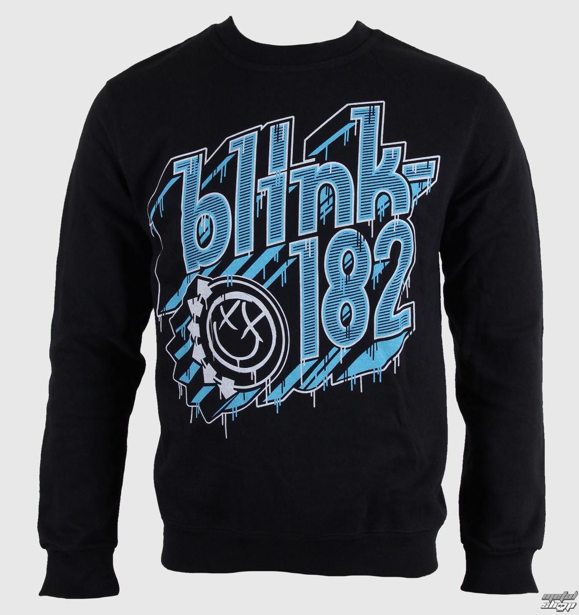 mikina pánska Blink 182 - Drip Type - LIVE NATION - RTBLI0120