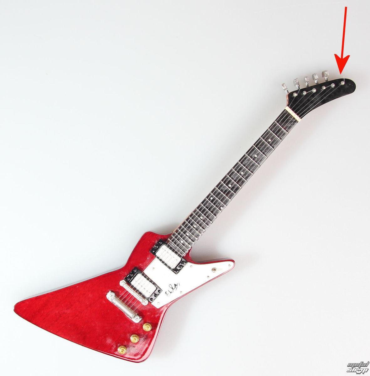 gitara U2 - Bono Explorer Edge 2 - MINI GUITAR USA - XPL2 - POŠKODENÁ