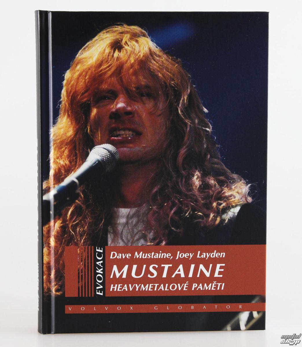 kniha Heavymetalovej pamäte - Dave Mustaine, Joey Layden