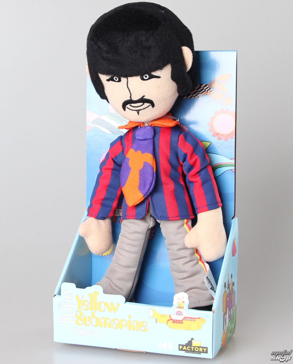 plyšová hračka Beatles - Yellow Submarine - Ringo - 408076