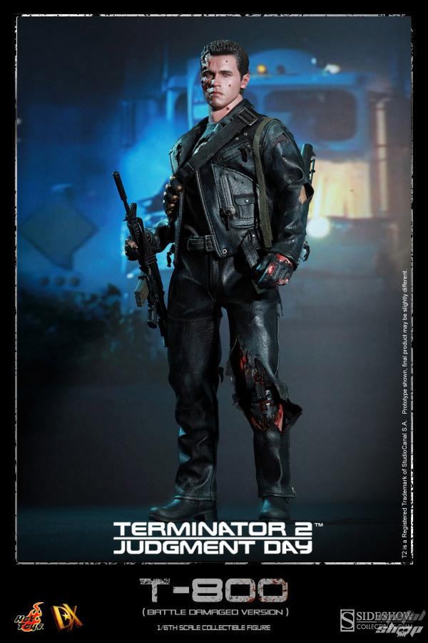 figúrka Terminator 2 - DX Action Figure 1/6 T-800 Battle Damaged 32 - 901980