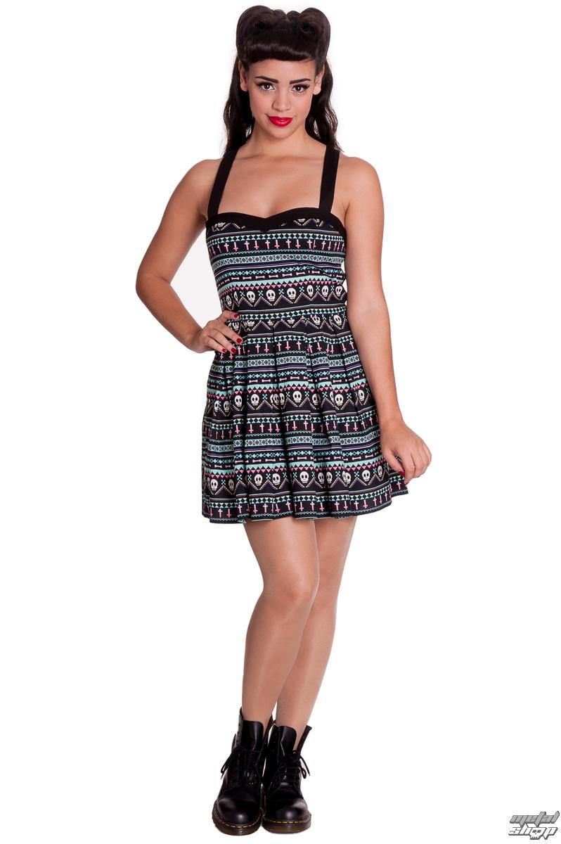 šaty dámske HELL BUNNY - Inca Mini - 4311