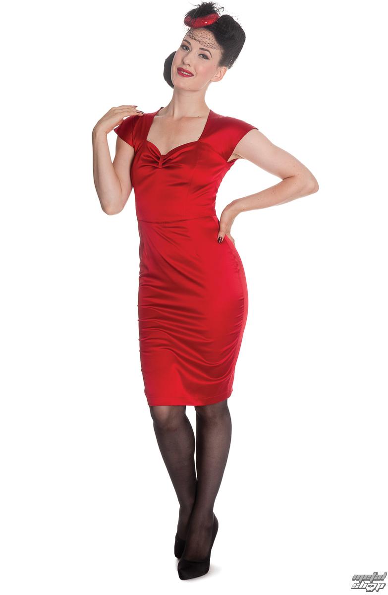 šaty dámske HELL BUNNY - Angie - Red - 4295