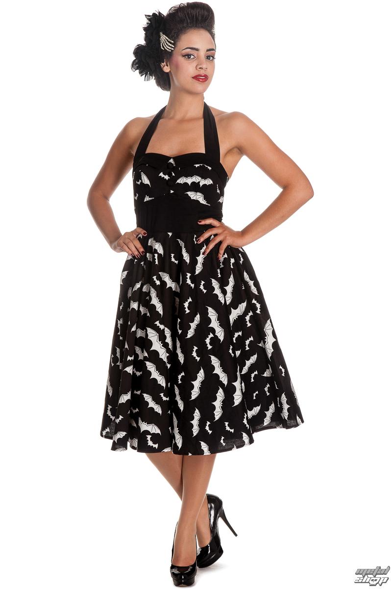 399a90afa515 šaty dámske HELL BUNNY - Bat 50´s - Blk Wht - 4290 - metalshop.sk