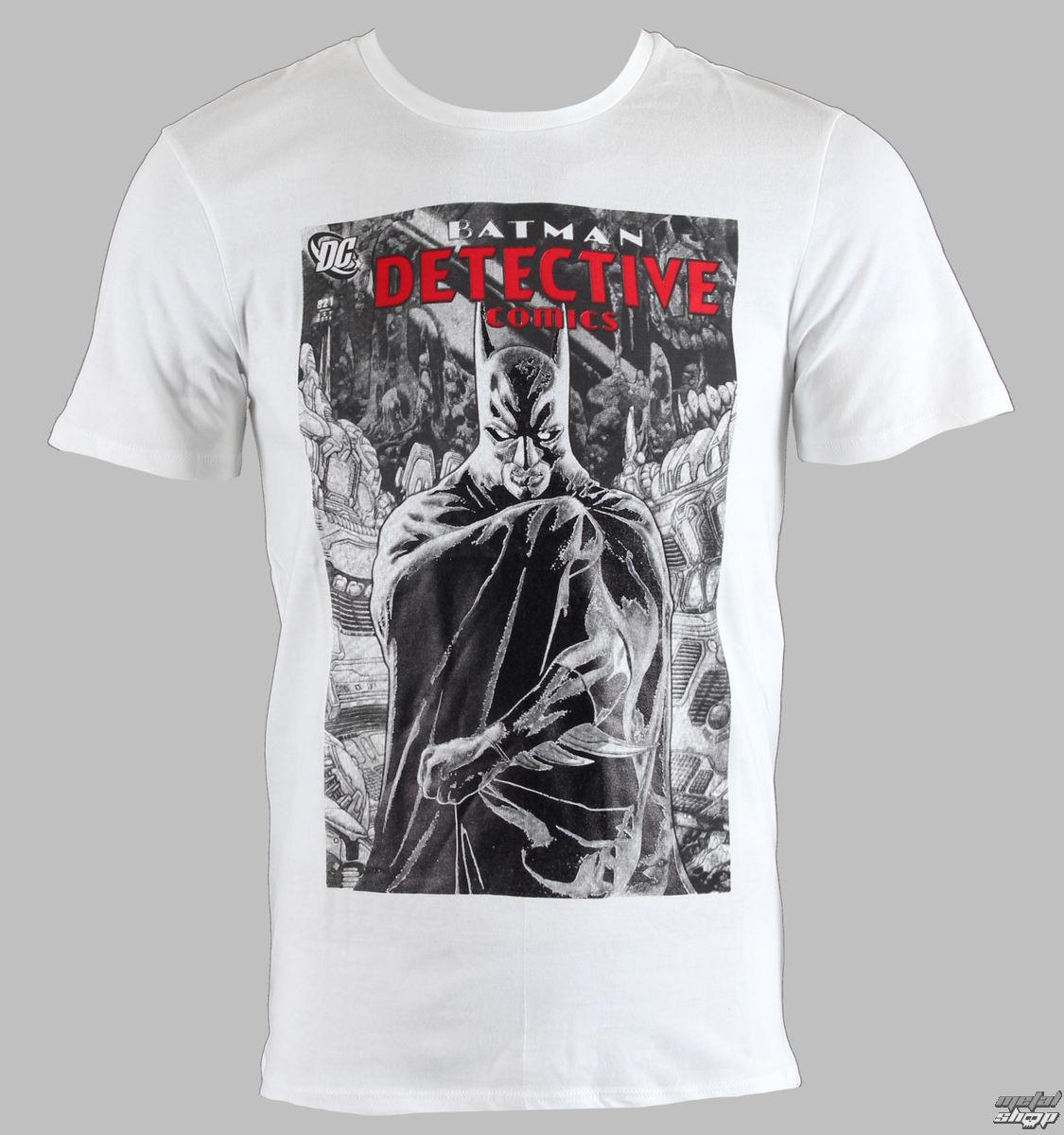 tričko pánske Batman - Real Cape - Blanc - LEGEND - GBATS 1262
