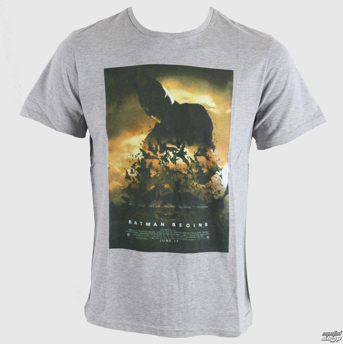tričko pánske Batman - Dark Knight - Gris Chine - LEGEND - HDKTS 1303