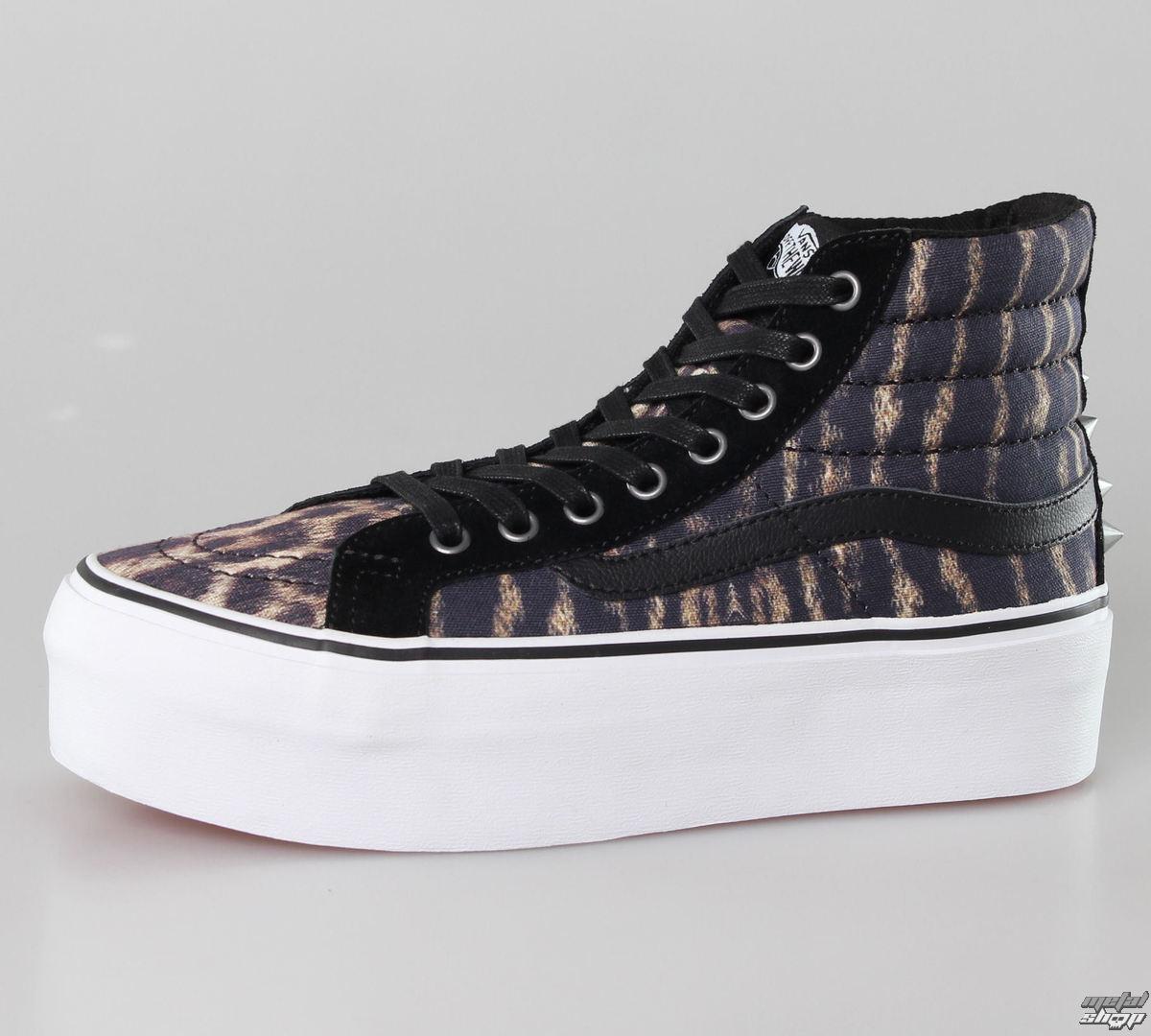 topánky dámske VANS - SK8-HI Platform (Studded) - Tiger/True White - VRRFC4K