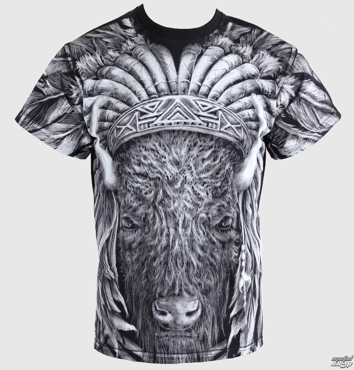 tričko pánske ALISTAR - Indian - Bison - 021