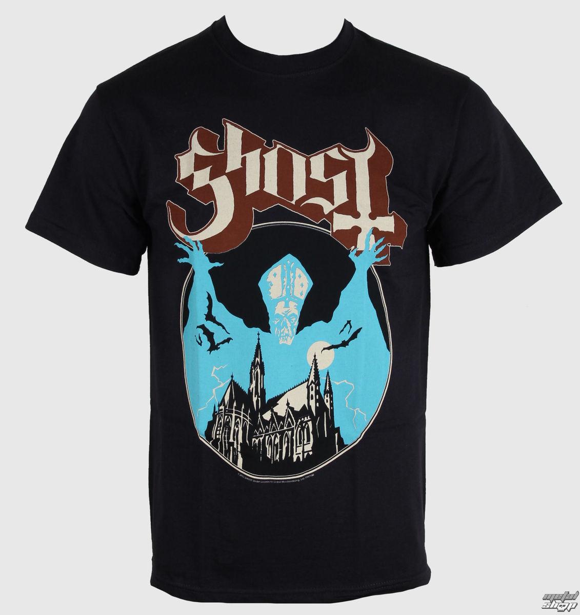 tričko pánske Ghost - Opus - ROCK OFF - GHOTEE03