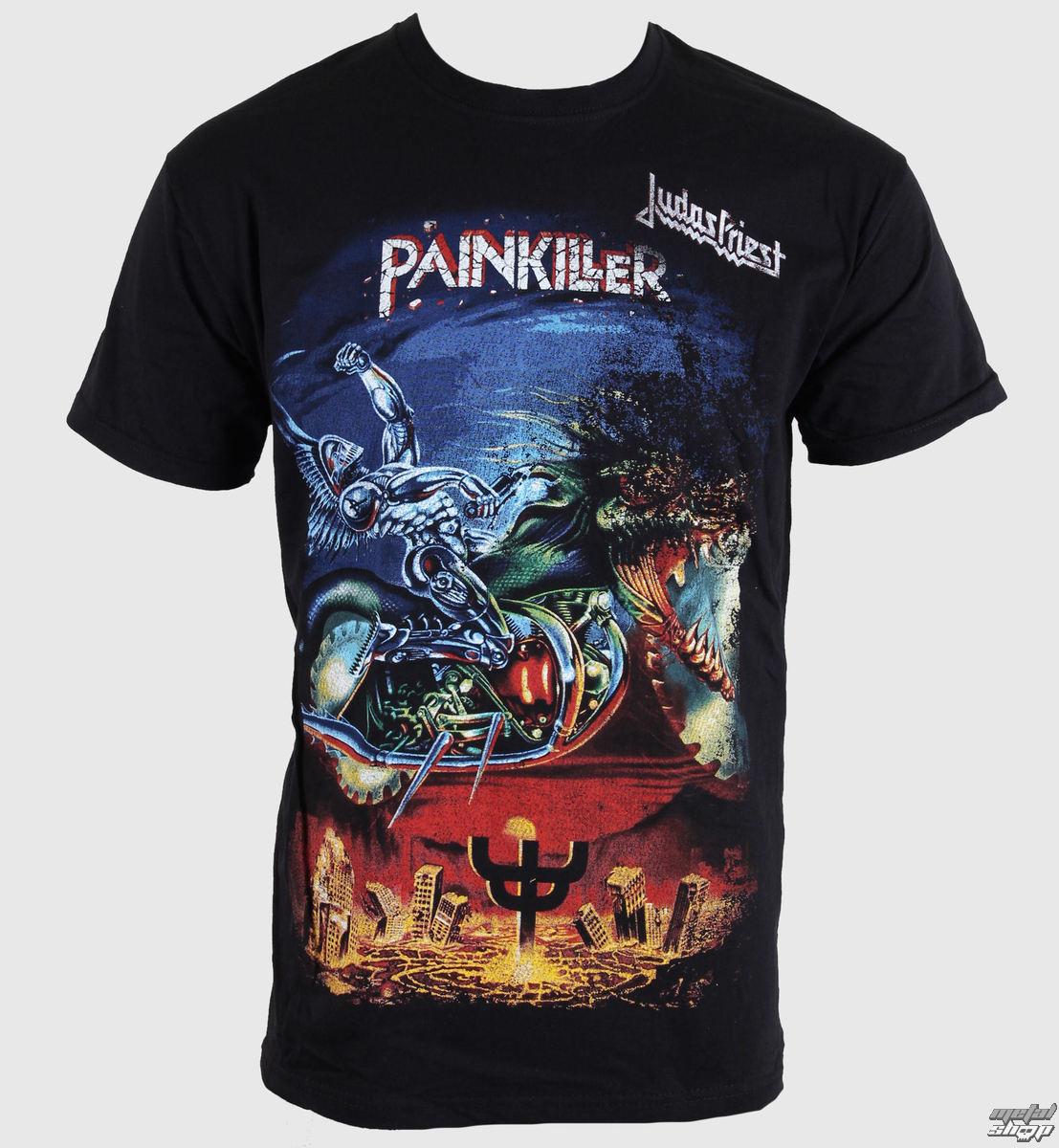 tričko pánske Judas Priest - Painkiller - ROCK OFF - JPTEE06