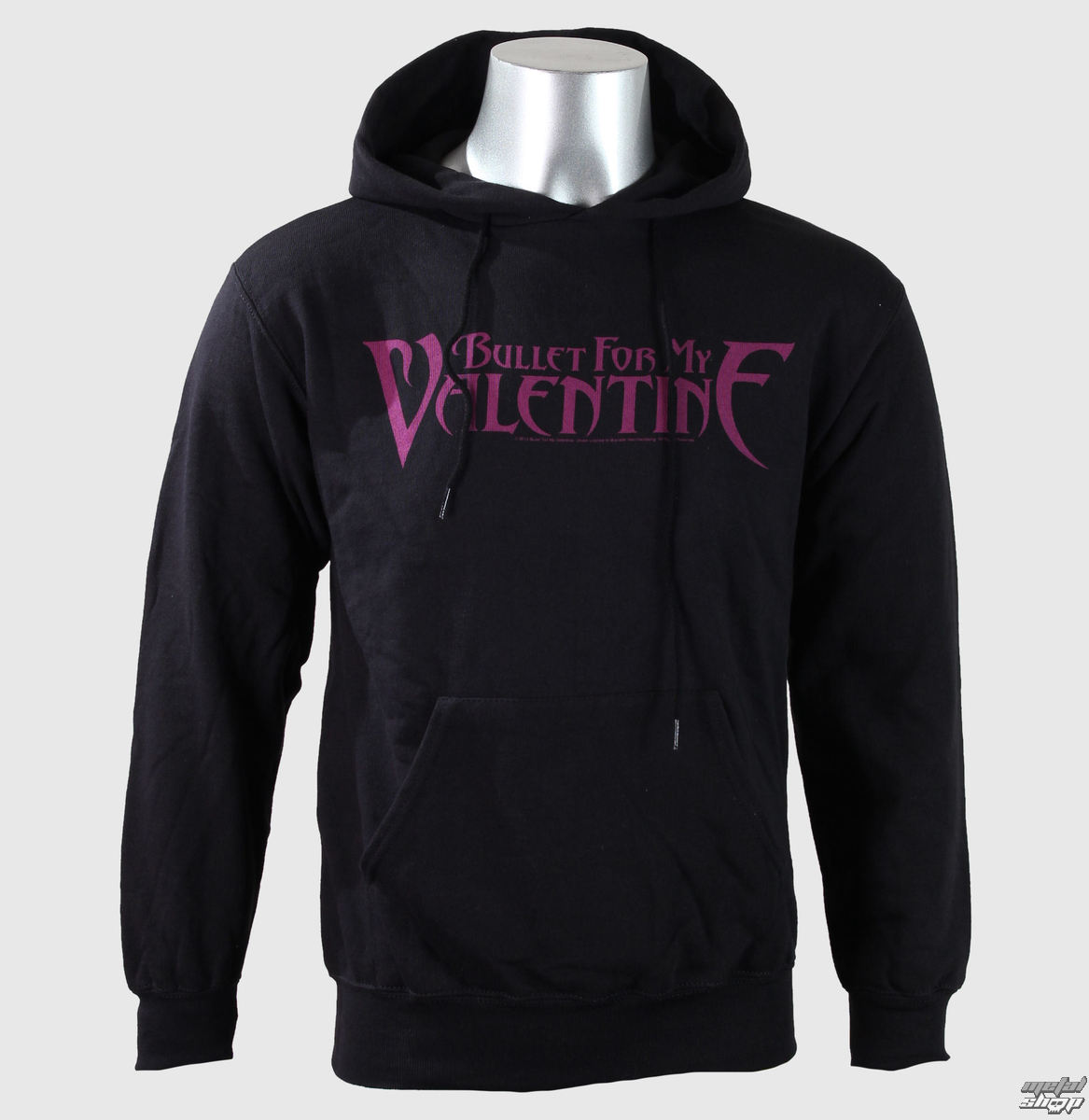mikina pánska Bullet For My Valentine - Logo - Blk - ROCK OFF - BFMVHD01