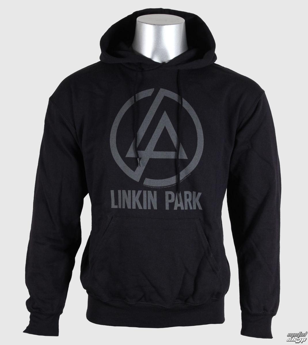 mikina pánska Linkin Park - Logo - Blk - ROCK OFF - LPHD02