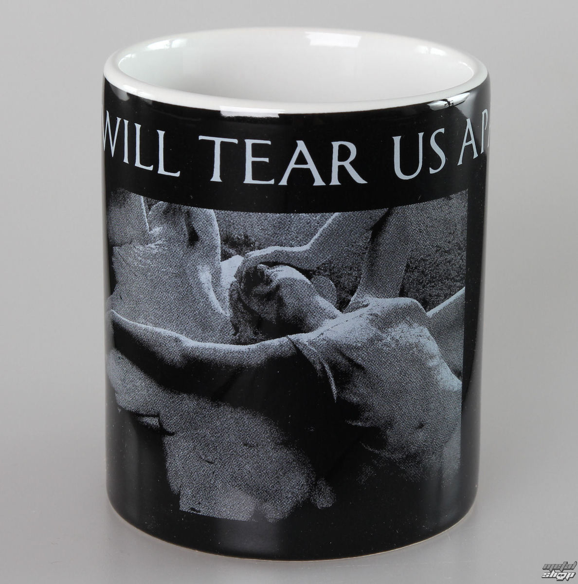 hrnček Joy Division - Love Will Tear - Black - ROCK OFF - JDMUG03