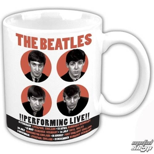 hrnček The Beatles - Performing Live - ROCK OFF - BEAT62MUG02