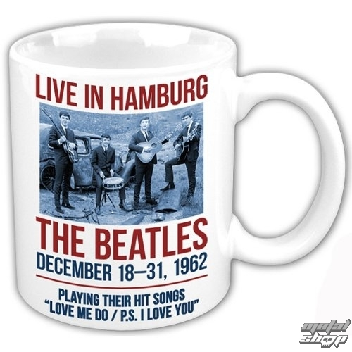 hrnček The Beatles - Hamburg - ROCK OFF - BEAT62MUG04