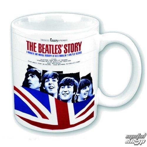 hrnček The Beatles - The Beatles Story - ROCK OFF - BEATMUG27