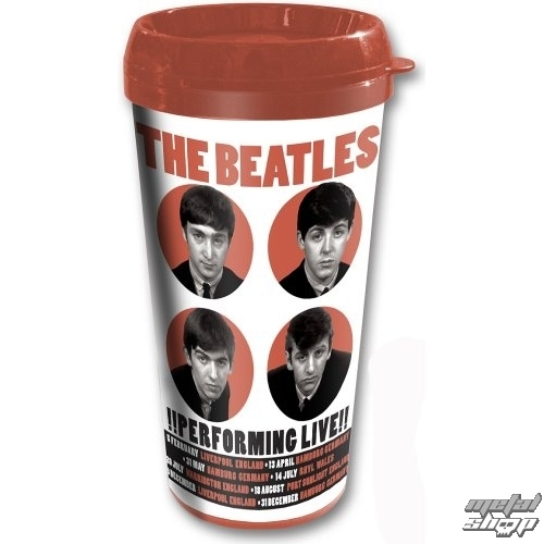hrnček termo The Beatles - Performing Live - ROCK OFF - BEAT62TRAVMUG02