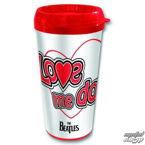 hrnček termo The Beatles - Love Me Do - ROCK OFF - BEATTRAVMUG05