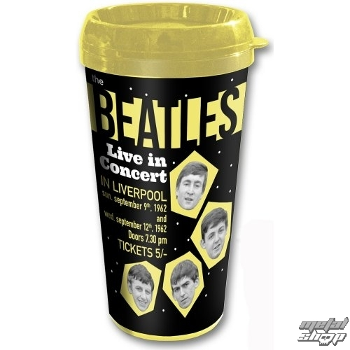 hrnček termo - The Beatles - Drop T - ROCK OFF - BEAT62TRAVMUG03