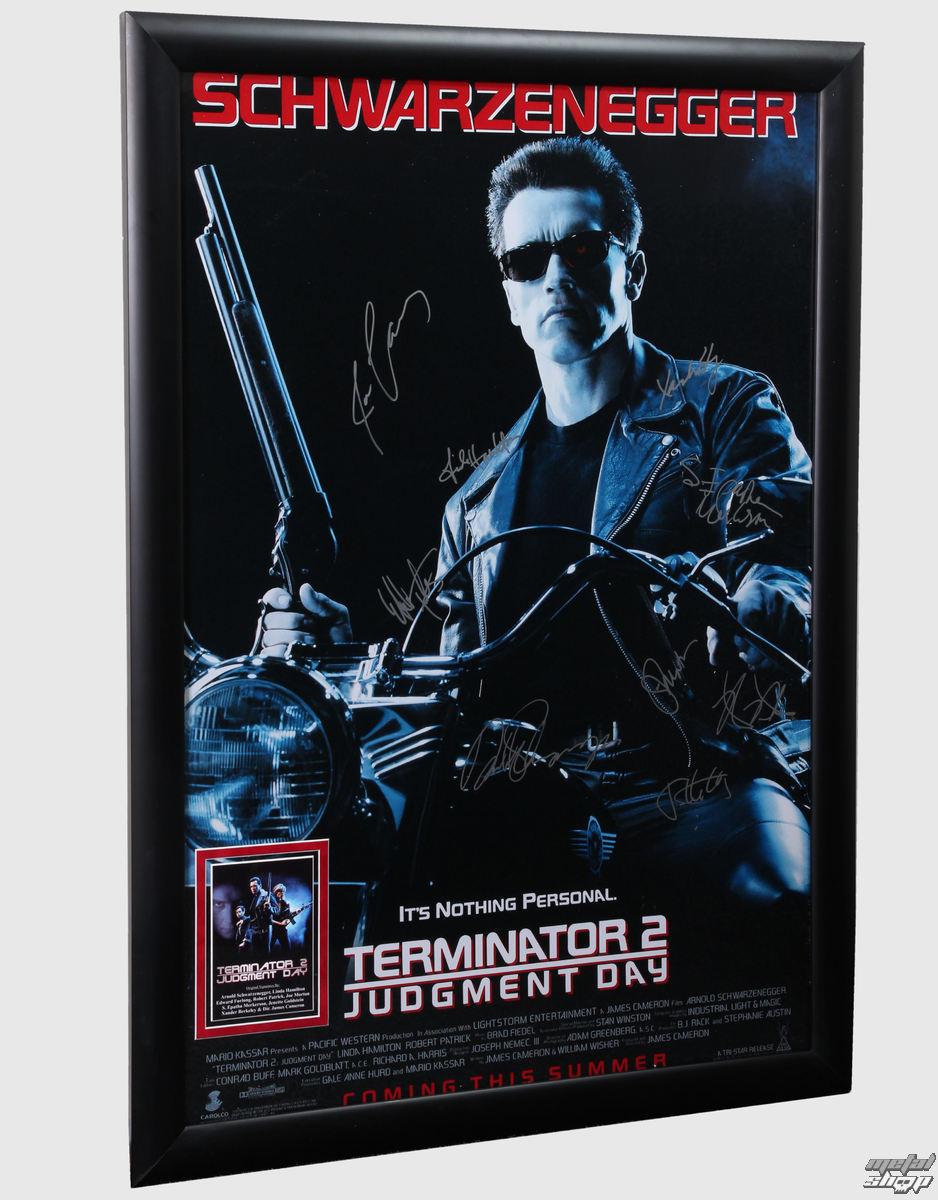 plagát s podpisy Terminator 2 - ANTIQUITIESCA