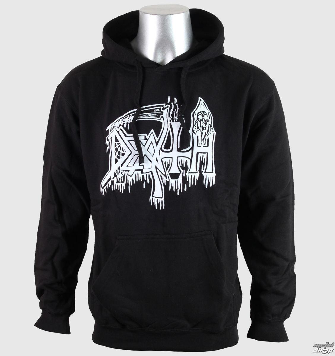 mikina pánska Death - Classic Logo - RELAPSE - SS4155