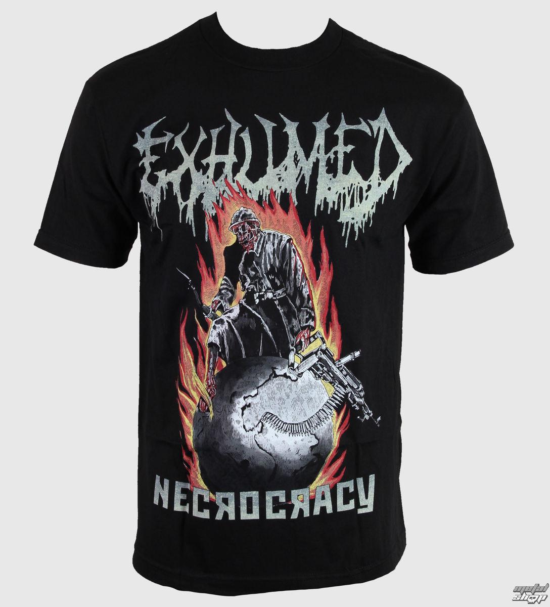 tričko pánske Exhumed - Necrocracy - RELAPSE - TS4296