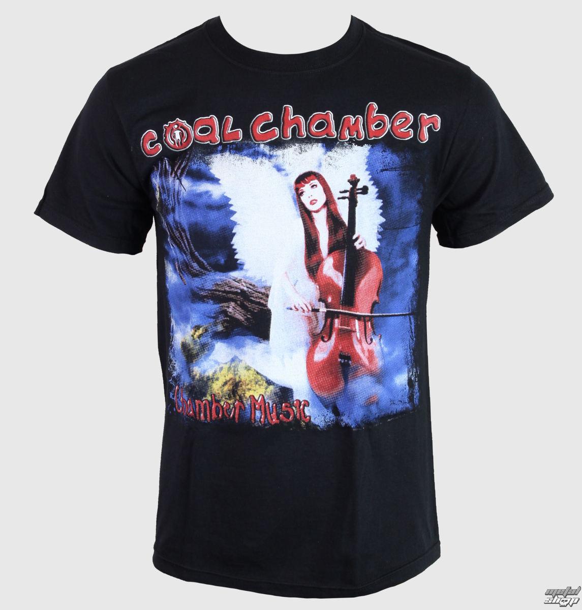 tričko pánske Coal Chamber - Chamber Music - Black - KINGS ROAD - 13322