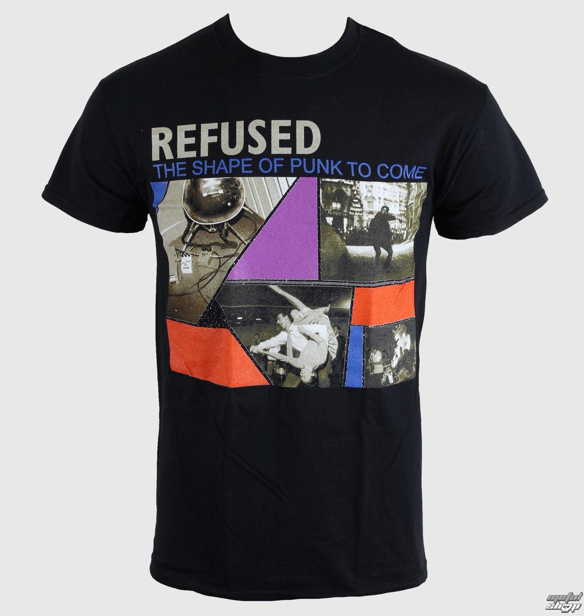 tričko pánske Refused - The Shape Of Punk - Black - KINGS ROAD - 00316