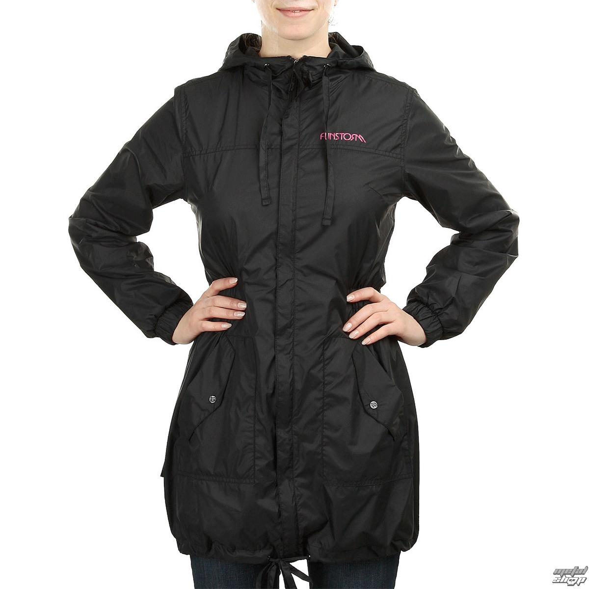 bunda dámska -kabátik- jarno-jesenná FUNSTORM - Munfe - 21 BLACK