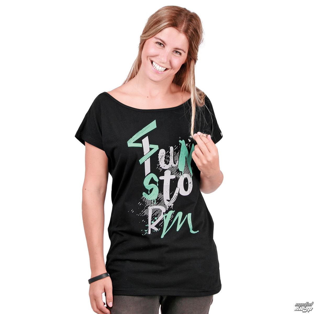 tričko dámske FUNSTORM - Arvada Top - 21 BLACK