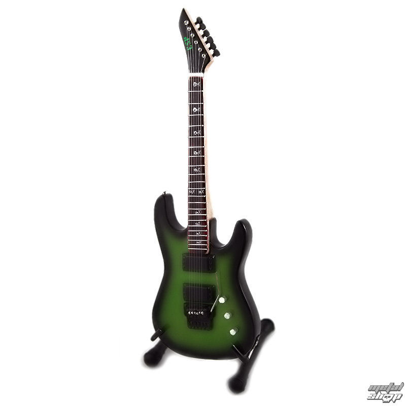 gitara Metallica - Kirk Hammett - Metallic Green Burst - Gita - 310