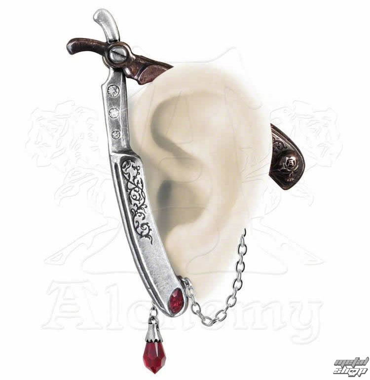 náušnice Cut Throat Ear Wrap - ALCHEMY GOTHIC - E335