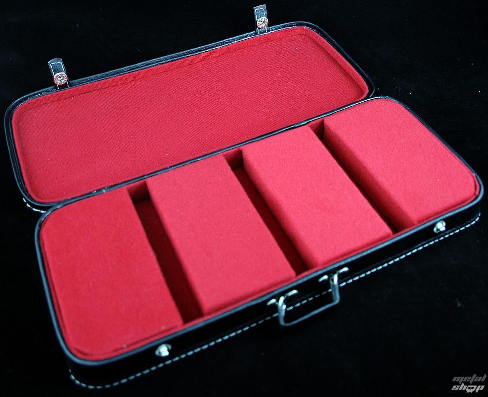 puzdro na gitary 3 - červený vnútro