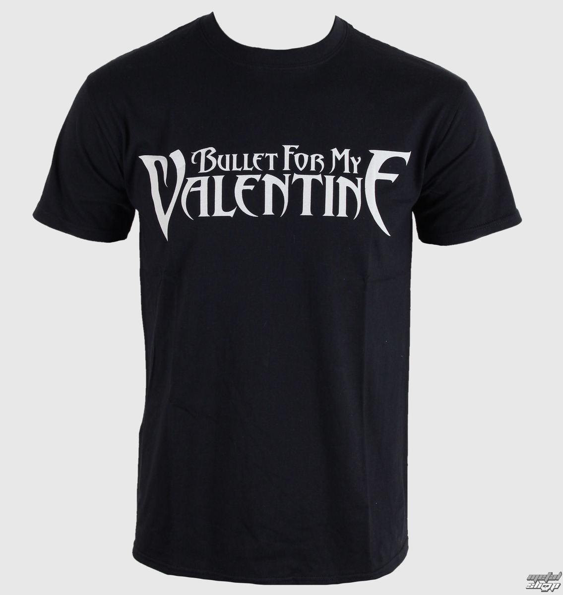 tričko pánske Bullet For My Valentine - Logo - Black - BRAVADO EU - BFMVTS03