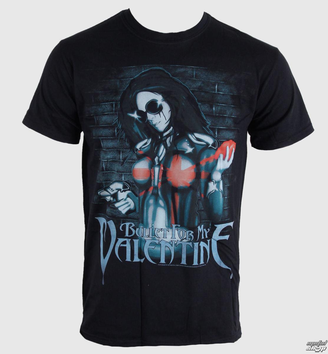 tričko pánske Bullet For My Valentine - Armed - Blk - BRAVADO EU - BFMVTS04MB