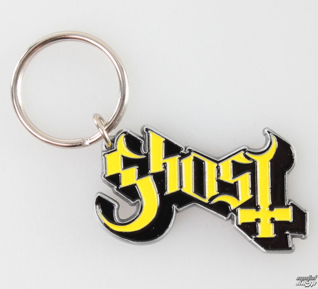 kľúčenka (prívesok) Ghost - Logo - RAZAMATAZ - KR106
