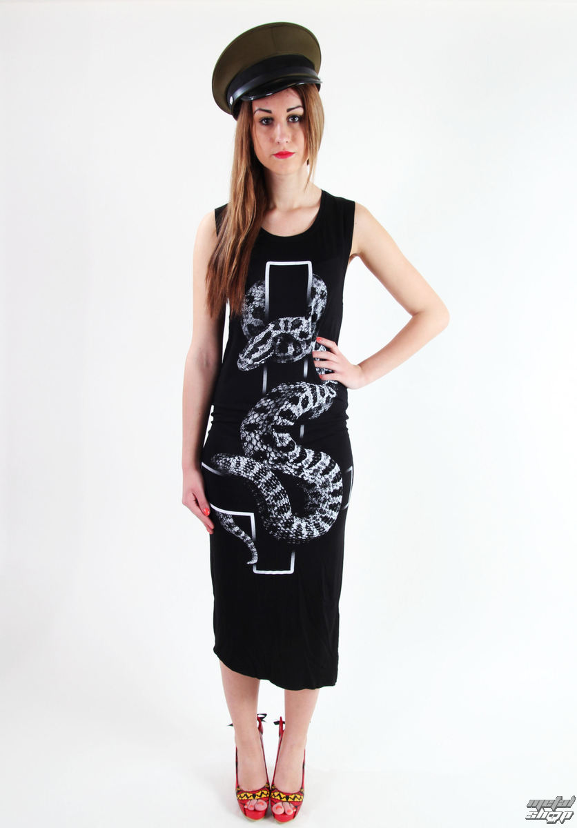 šaty dámske KILLSTAR - Serpent - Black
