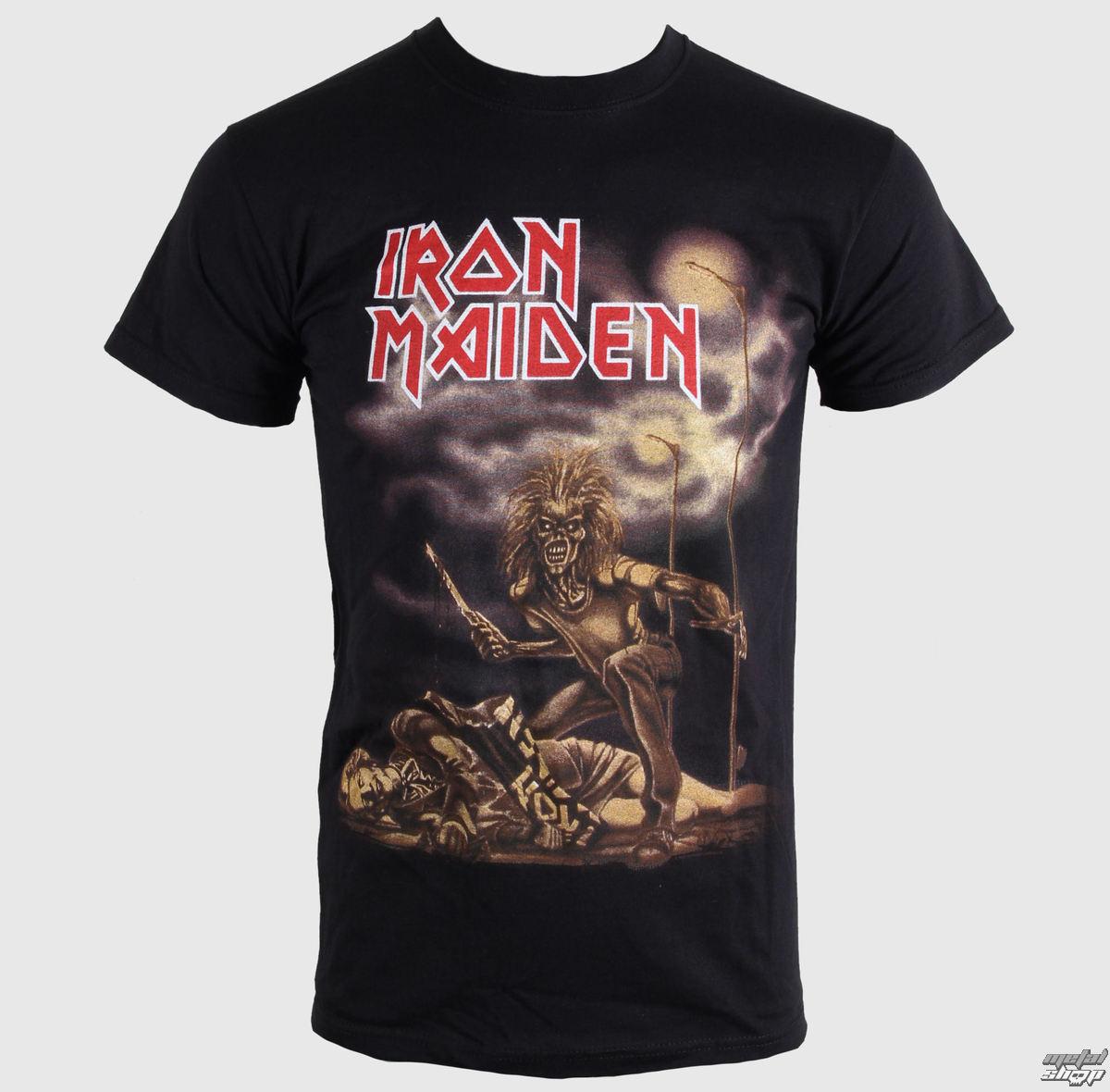 tričko pánske Iron Maiden - Sanctuary - Black - BRAVADO EU - IMTEE31MB